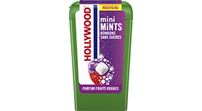 Hollywood Mini Mints – Parfum Fruits rouges