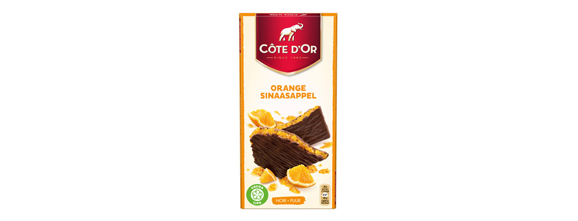 Chocolat Côte d'Or Orange