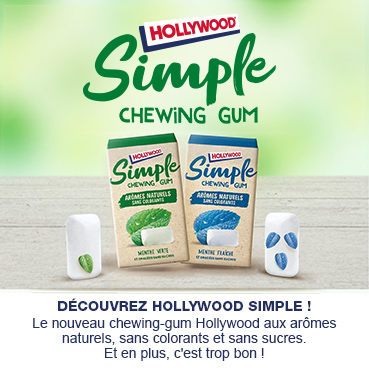Hollywood gamme simple