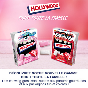 Toute la famille hollywood gamme