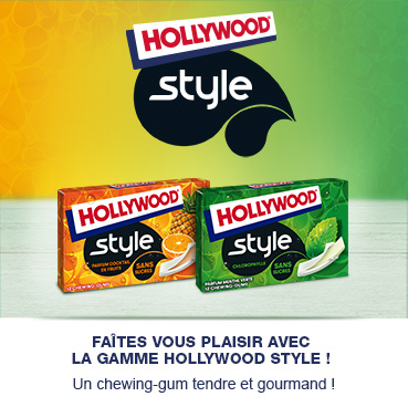 Gamme style hollywood