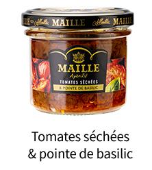 Tomates séchées & pointe de basilic