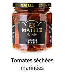 Tomates séchées marinées