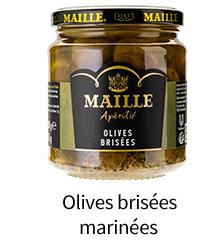 olives brisées marinées