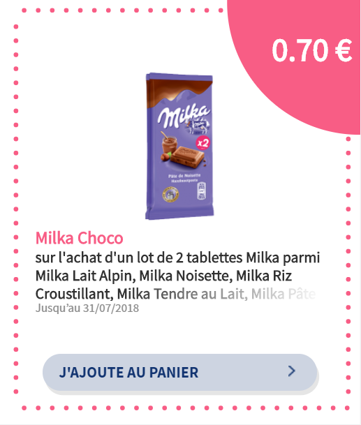 réduction Milka