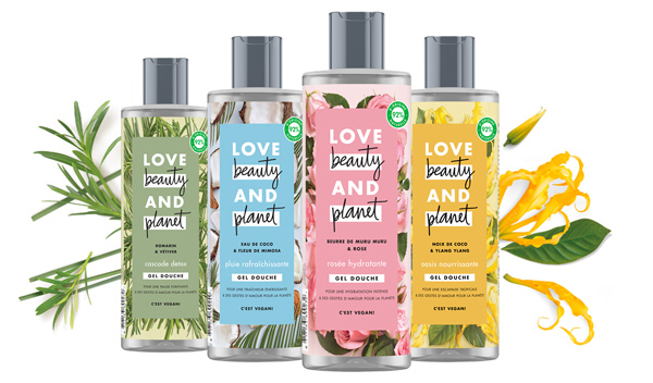 love beauty and planet shampoing