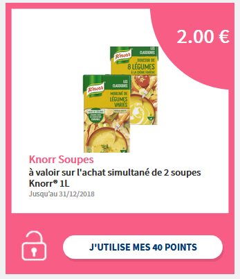 bon de réduction exclusif