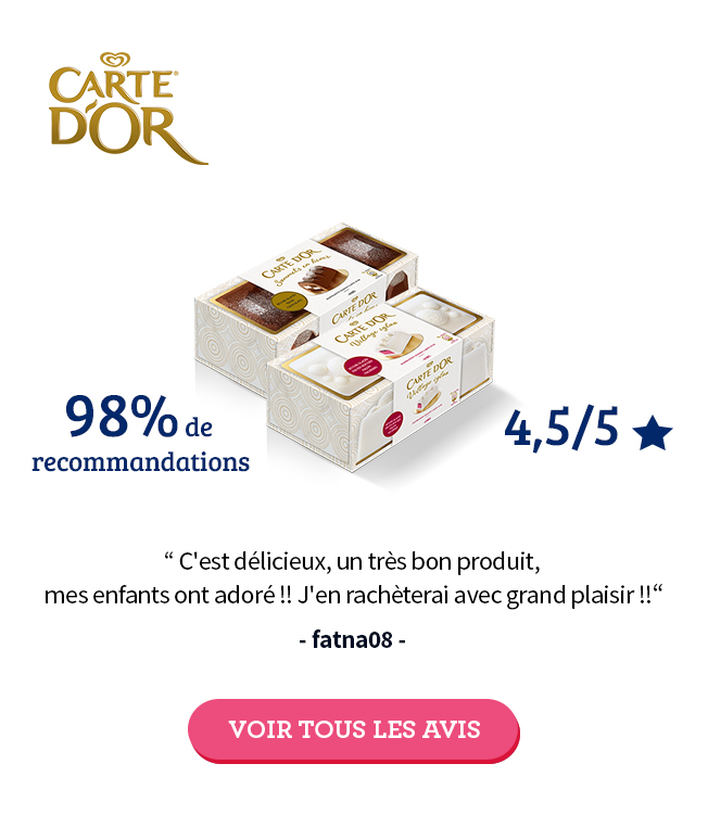 Test produit Carte d'or