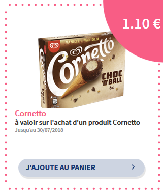 réduction cornetto