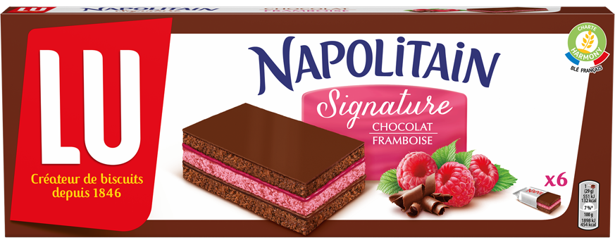 napolitain signature framboise