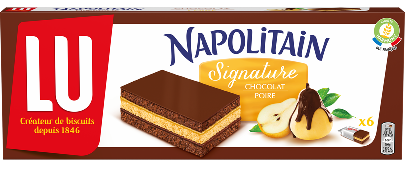 Napolitain signature poire