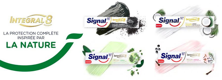 dentifrice signal element