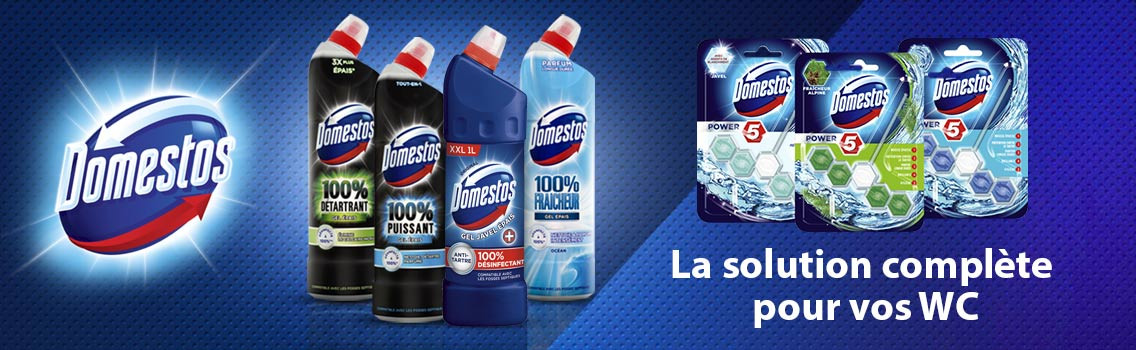 Domestos slider desktop