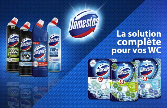 Domestos slider mobile