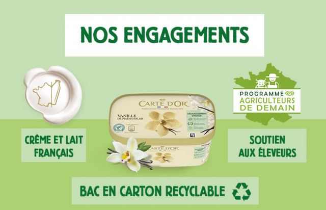 Engagements Carte d'OR