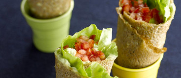 Wrap bacon avocat