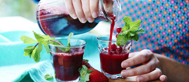 Cocktail aux fruits rouges par Annelyse