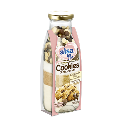 Cookies 3 Chocolats alsa®