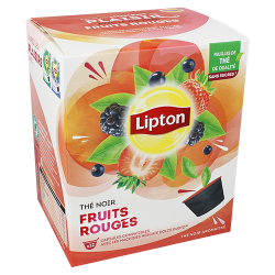 Thé Noir Fruits Rouges Lipton