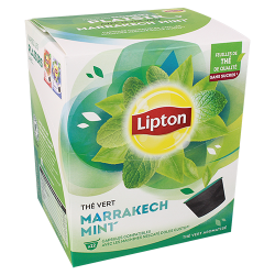 th vert marrakech mint lipton compatible nescaf dolce gusto. Black Bedroom Furniture Sets. Home Design Ideas