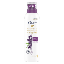 mousse de douche dove