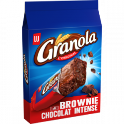 Granola Brownie chocolat intense