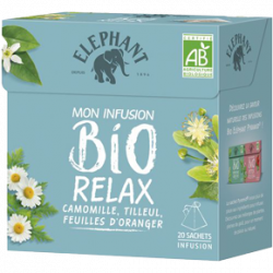 Eléphant Mon Infusion BIO Relax
