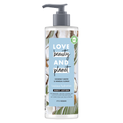 Lait Corps Hydratation Love Beauty and Planet Naturel Coco Mimosa Vegan