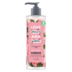 Lait Corps Eclat Love Beauty and Planet Naturel Rose Muru Muru Vegan