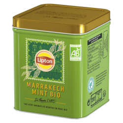 Sir Thomas Lipton thé vert marrakech mint menthe the bio vrac