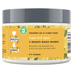 Masque Love Beauty and Planet Réparateur Naturel Huile Coco Ylang-Ylang Nourrissant Vegan