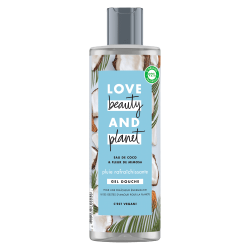 Gel Douche Love Beauty and Planet Rafraîchissant Naturel Coco Mimosa Hydratant Vegan