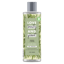 Gel Douche Love Beauty and Planet Détox Naturel Romarin Vétiver Purifiant Vegan