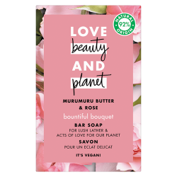 Savon solide Love Beauty and Planet beurre de muru muru rose