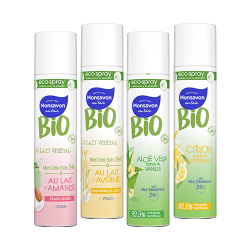 Monsavon BIO Deodorant Eco-Spray Naturel Parfum Efficacité