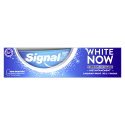 Signal / White now / Original / Expert / Blancheur / Dentifrice