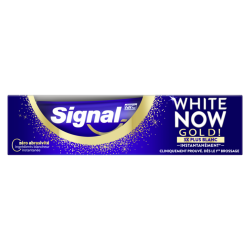Signal / White now / Blancheur / Gold / Or / Dents / Dentifrice