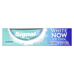 Signal / White now / Ice / Francheur / Blancheur / Dents / Dentifrice