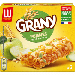 Barres Grany aux pommes