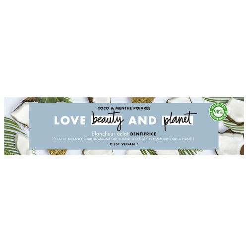 love beauty and planet dentifrice