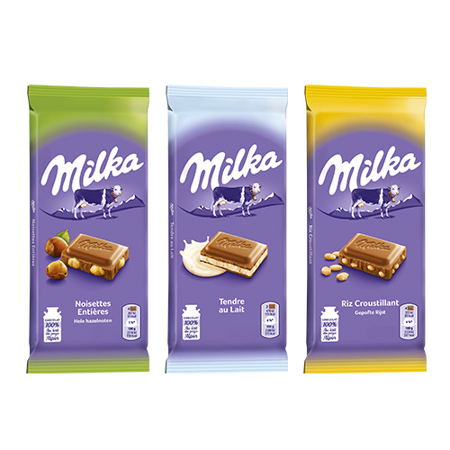 réduction tablettes choco milka