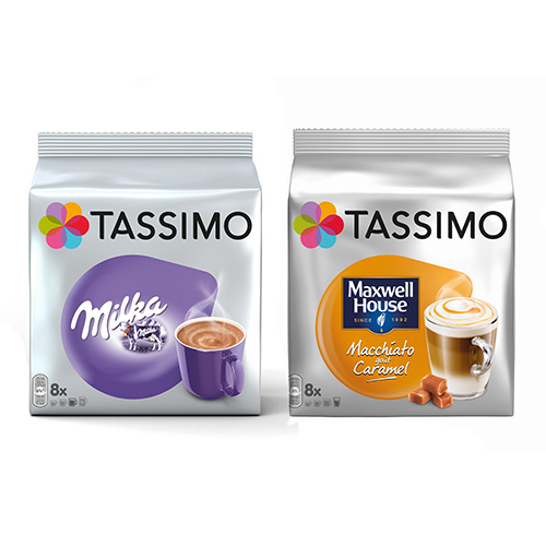 réduction café capsules tassimo
