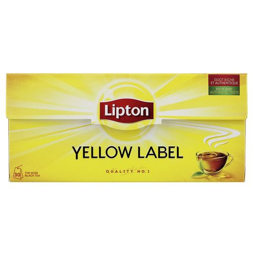 bon lipton yellow label