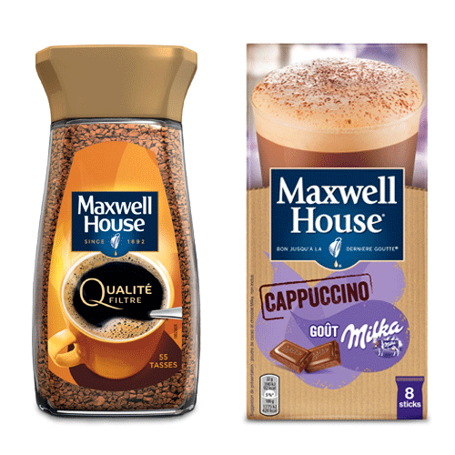 maxwell house café réductions