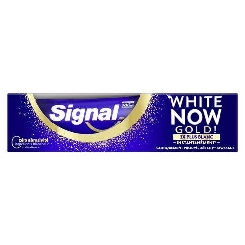 réduction signal dentifrice