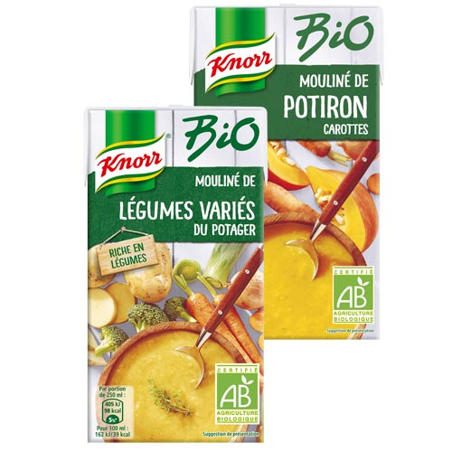 Knorr bio réduction