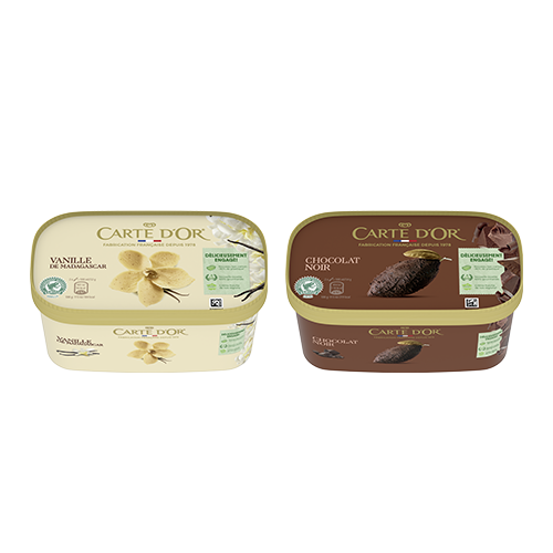 glace carte d'or réduction