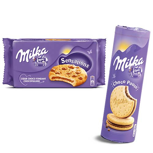 réduction milka biscuit