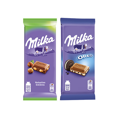 réduction milka tablette