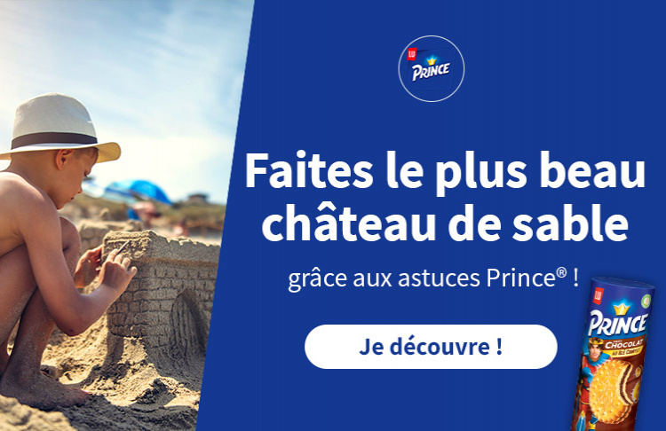 prince chateau de sable